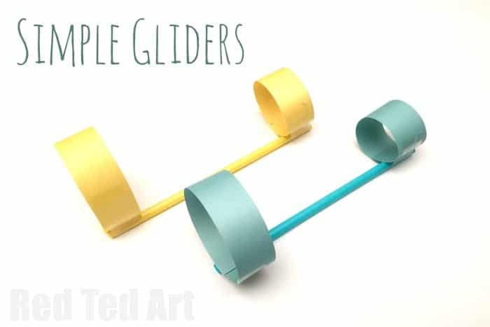 Simple Paper Plane Gliders - fun paper toy that can easily be extended to a STEM activity