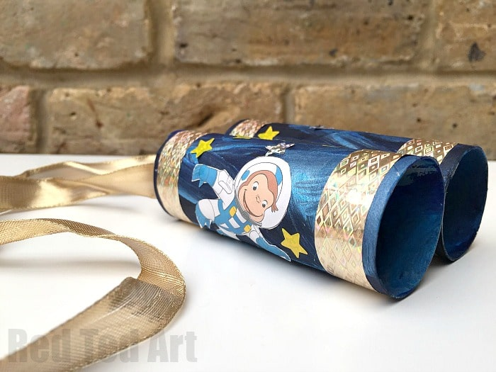 Space TP Roll Binoculars - we are ready to explore!