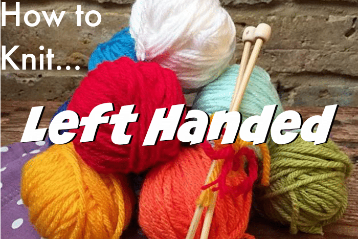 Knitting Left Handed Ssk : How to knit left handed red ted art s