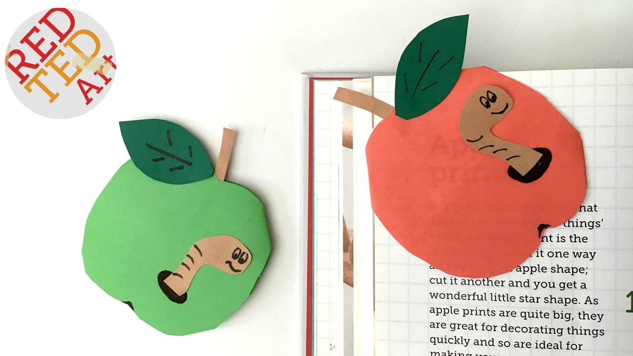 Fall Corner Bookmark Ideas for Children - Red Ted Art\'s Blog