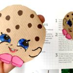 cute origami bookmark - cookie bookmark corner for cookie shopkins lovers