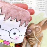 Harry Potter Bookmark - how to make a corner bookmark without glue