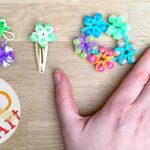 Loom Band Flower Ring & Bracelet DIY