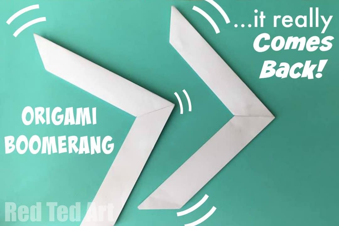 origami boomerang tattoo design bild
