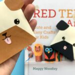 How to make bookmark corners with kids