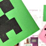 Creeper Corner Bookmark Minecraft DIY