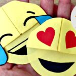 Easy Emoji Bookmark DIY