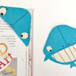 Easy Whale Bookmark Corner Design