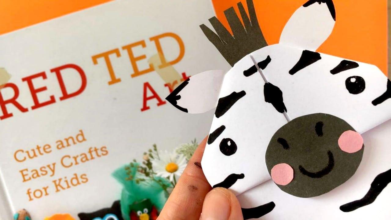 zebra bookmark yt red ted art u0027s blog