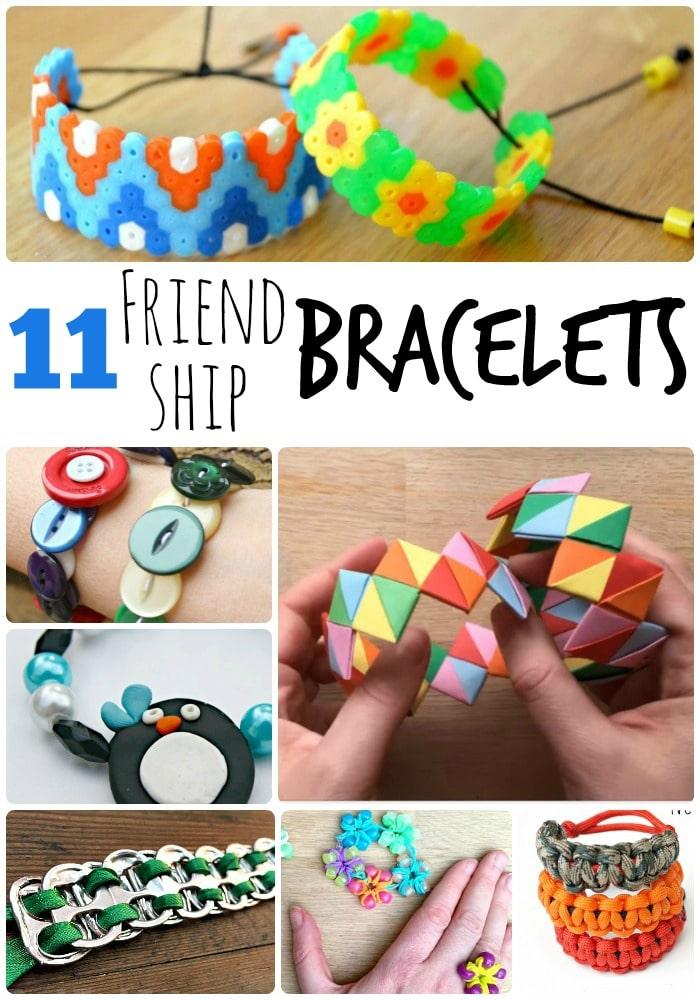 11 Diy Friendship Bracelets For Summer Camp Red Ted Art