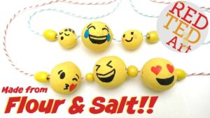 Salt Dough Beads Emoji YT