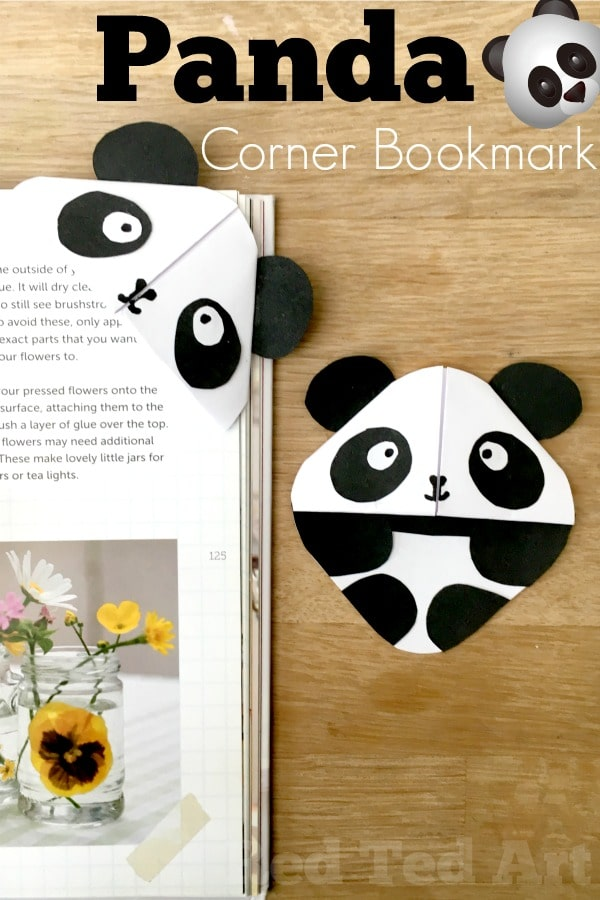 DIY Panda Bookmark Corner How To Make A Easy DIYs