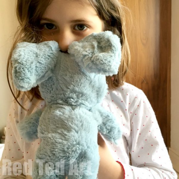 sew a softie rabbit with kids