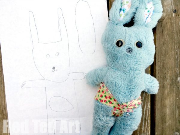 sew a softie with kids