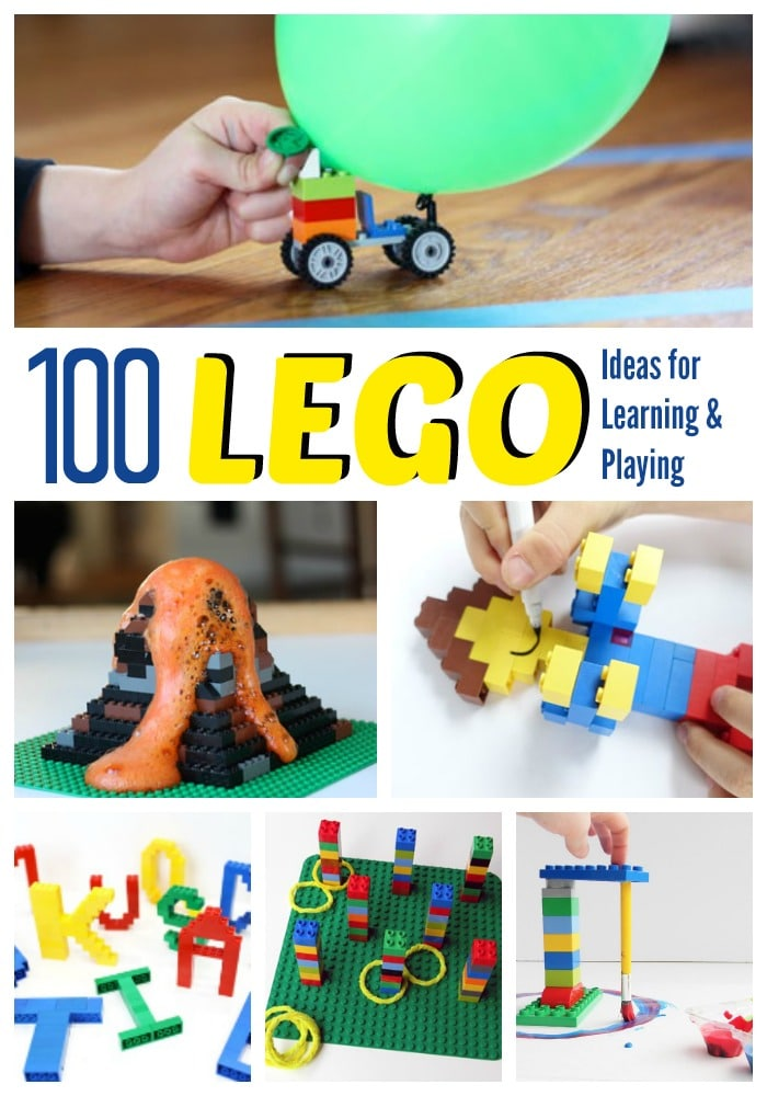 100 Lego Ideas for Learning and Playing