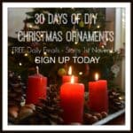 30 Days of Christmas Ornaments