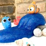 DIY Glitter Slime Tutorial - combine with Finding Dory for some under the ocean pretend play!