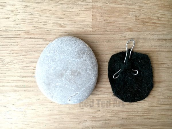 DIY Stone Pendants - no specialist tools required - how to secure the wire