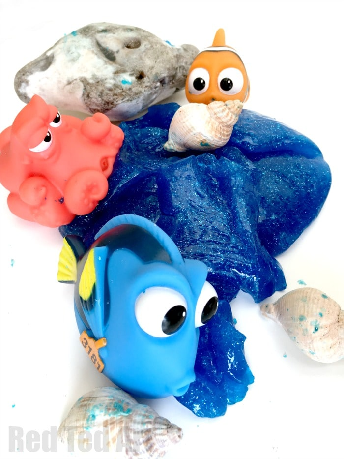 Finding Dory DIY Slime Recipe