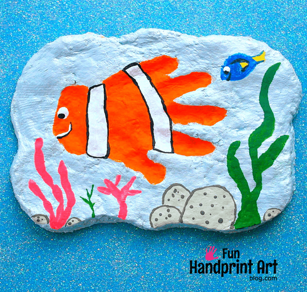 Finding-Nemo-Handprint-Salt-Dough-Keepsake-2