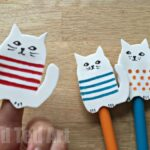Funky Foam Pencil Toppers from Red Ted Art