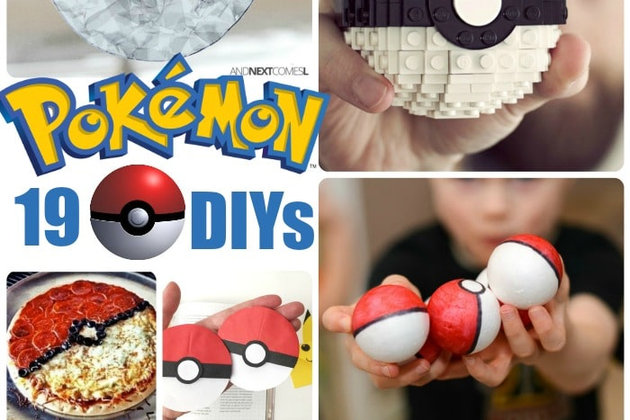 19 Pokemon DIY