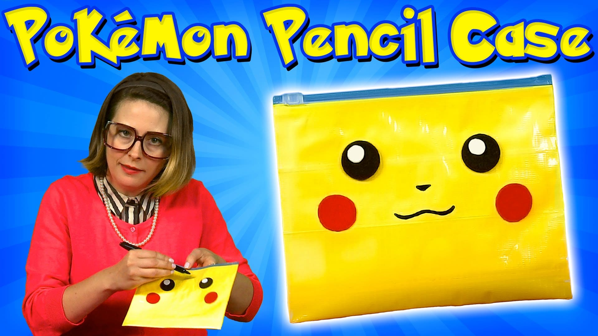 Pokemon Pikachu pencil case
