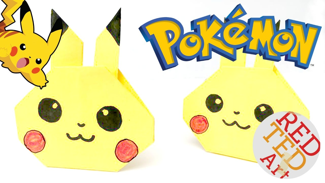 Super easy Pikachu Origami