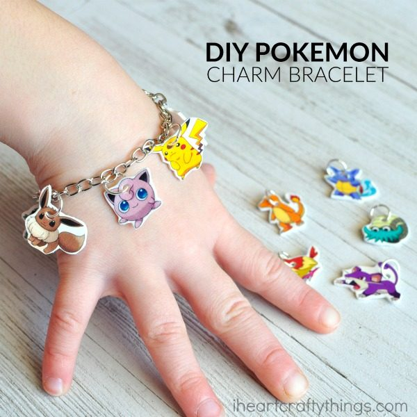 19 pokemon diy pokemon go red ted arts blog diy pokemon go charm bracelet solutioingenieria Images
