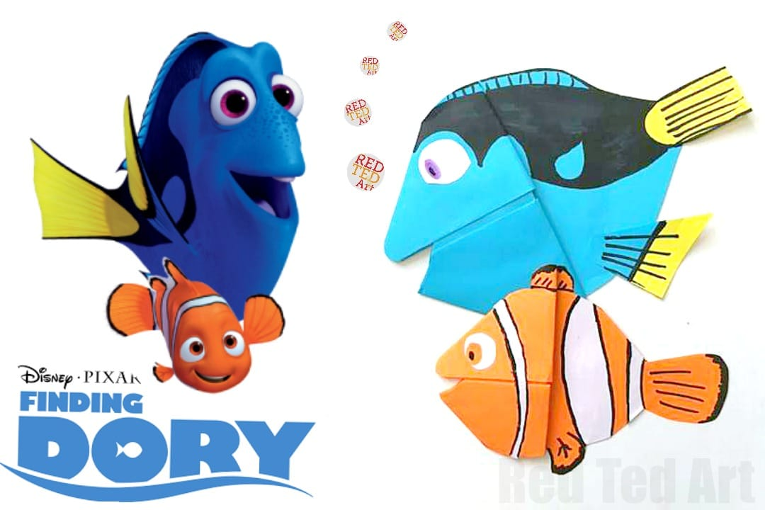 Do You Think Arent Our Dory And Nemo Bookmarks Simply Adorable