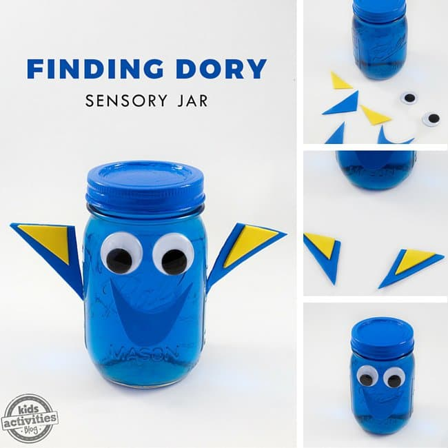 finding dory jars