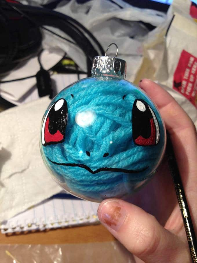 pokemon diy - christmas baubles
