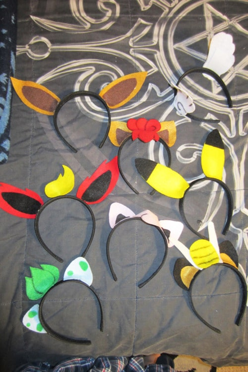 pokemon go crafts - make your own headbands