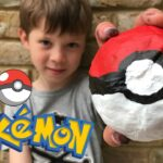 3D Pokeball DIY – Pokemon Go Crafts
