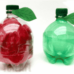 DIY Plastic Bottle Apple – Back to School or Teacher's Gifts