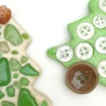 Sea Glass Ornaments – Salt Dough Tree Ornament