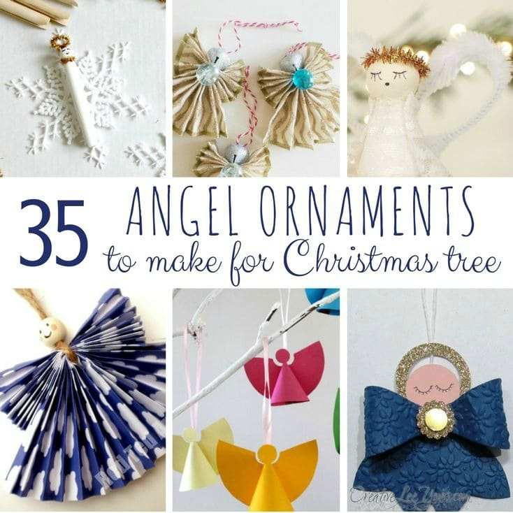diy angel ornaments