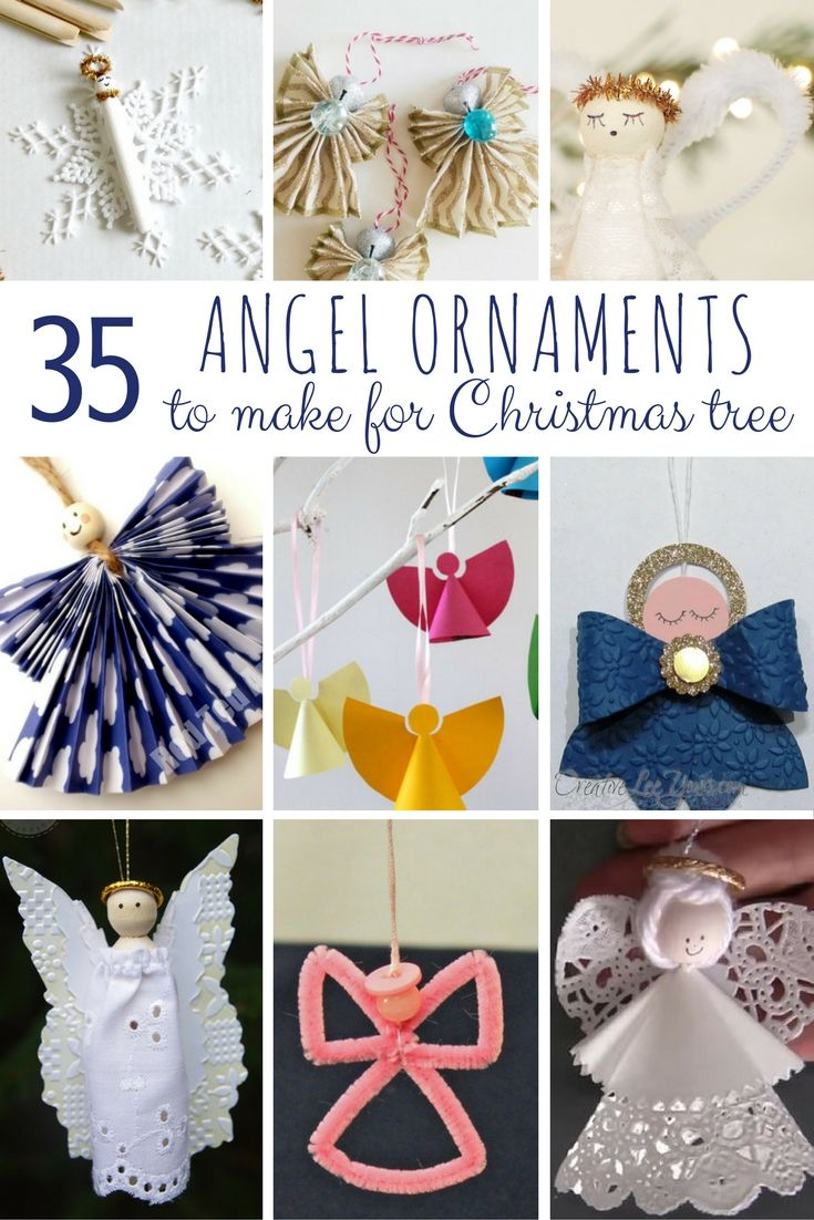DIY Angel Ornaments - Red Ted Art\'s Blog