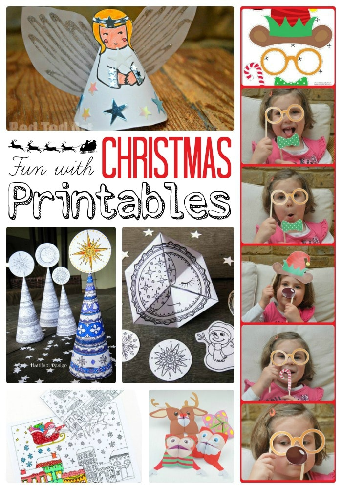 Free Christmas Printables. Fun Paper Craft Ideas for Christmas. From Printable Photo Booths, to Printable Christmas Paper Toys and Tree Decorations.. take a look today!