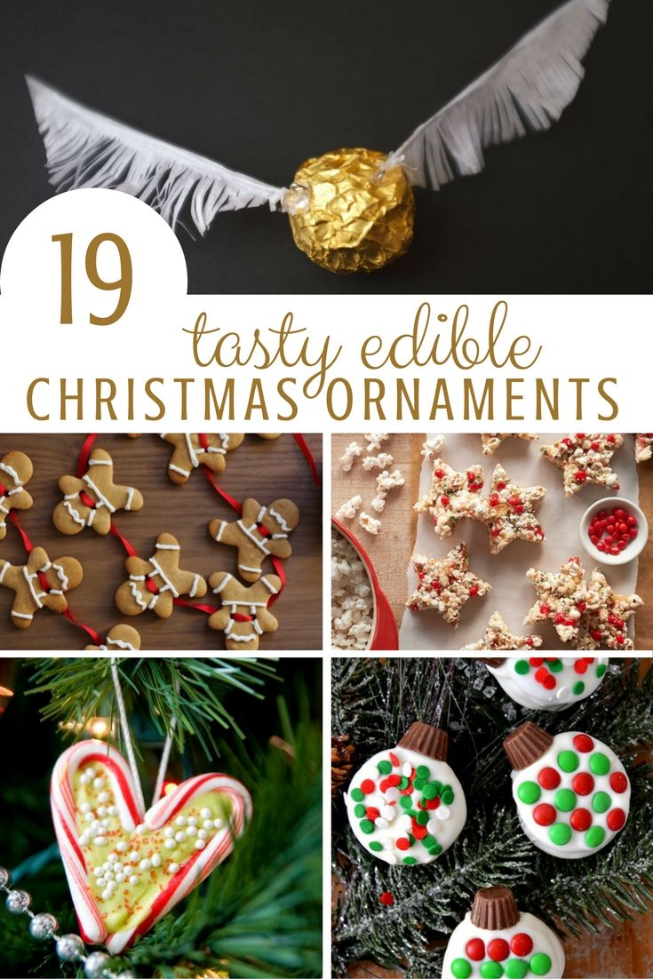Edible Christmas Ornaments Red Ted Art 39 S Blog