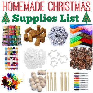 homemade-christmas-craft-supplies-list