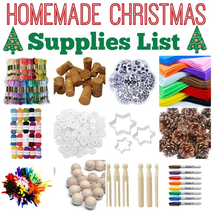 Joining in with our Ornament Challenge this Christmas? If yes, this is a complete supplies list of what you will need to *make* it happen. The supplies list incorporates many craft basics, as well as recycled materials and nature finds, so should be useful for ALL your HOMEMADE CHRISTMAS needs!!! Browse, enjoy and GET EXCITED ABOUT CHRISTMAS!