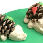 Easy Pine Cone Hedgehog DIY