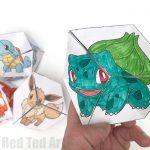 Pokemon NEVER ENDING paper toys!