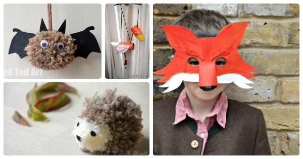 woodland-animal-crafts-for-kids