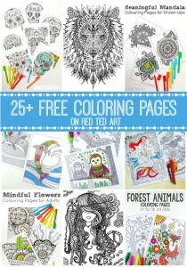 Easter Coloring Pages for Adults and MORE! If you fancy some Easter Easter Colouring Pages check these out!