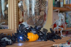 black-halloween-garland