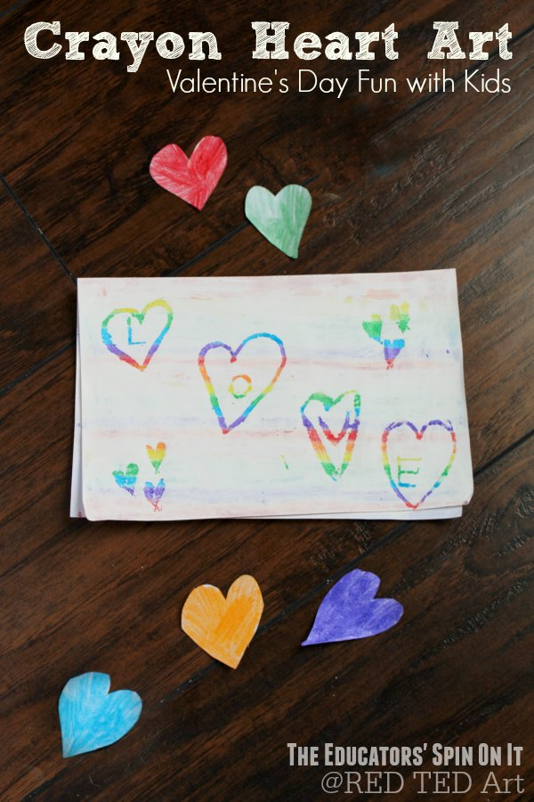 Try these DIY Crayon Heart Art Cards. DIY Crayon Scratching. So fun. Lovely Valentines Cards for Kids to make!