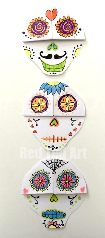day-of-the-dead-bookmark-diy