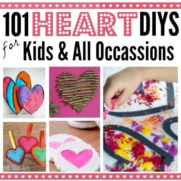 Easy Heart Crafts